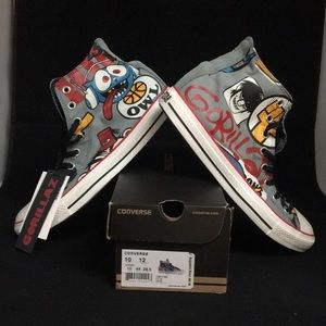 "All Star Hi Top ""LE Gorillaz Lead Owl"""